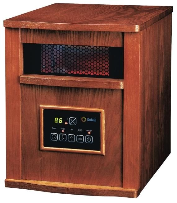 Soleil WH-96H Electric Infrared Radiant Heater, 1500 watts