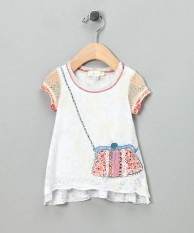 Cute shirt with applique
