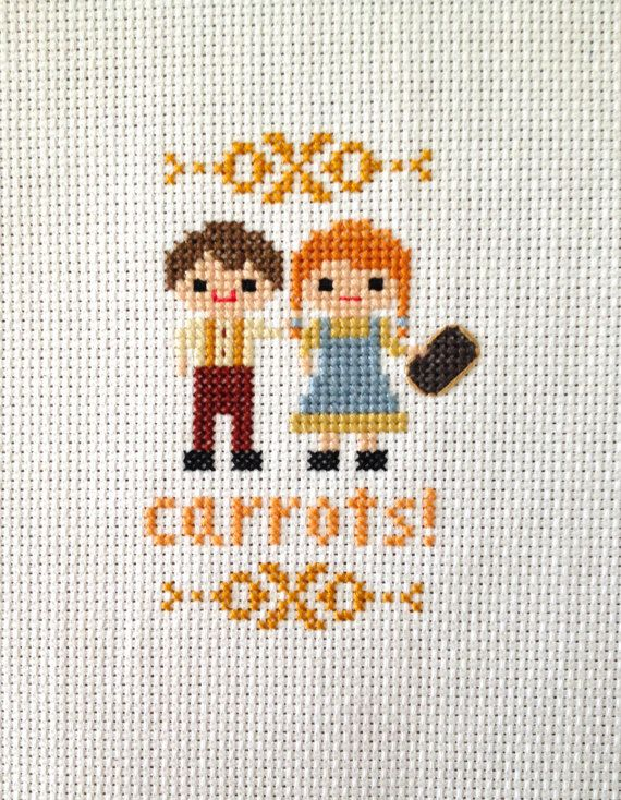 Anne of Green Gables Cross Stitch 3 Pack Anne of by petalpusher