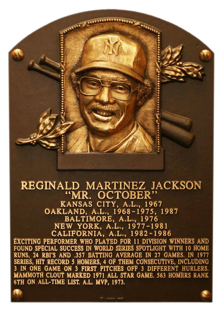 Reggie Jackson: Baseball Hall of Fame - 1993