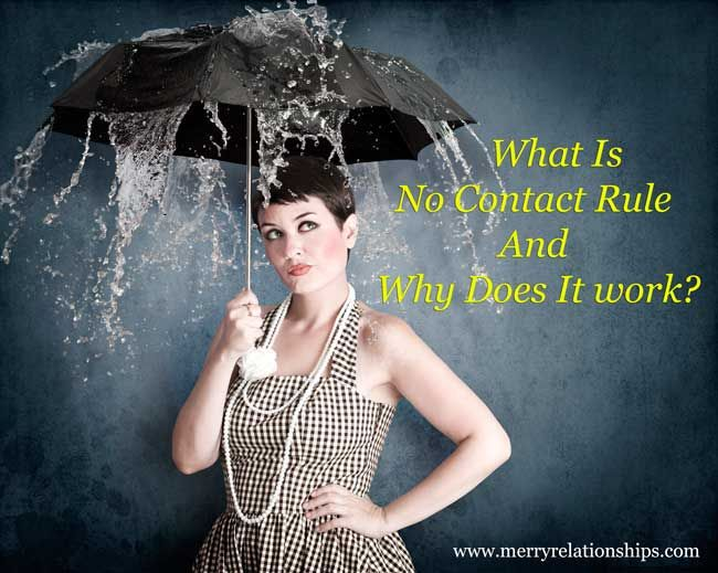 What Is No Contact Rule And Why Does It work?