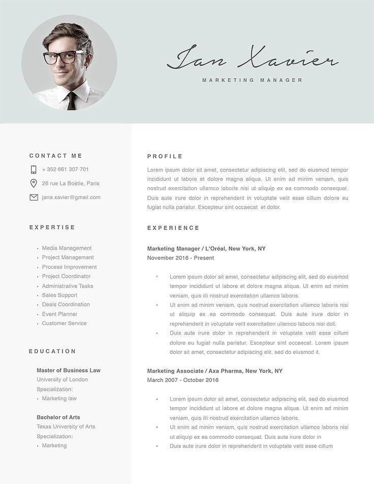Modern resume template 120070 resumeway modern resume