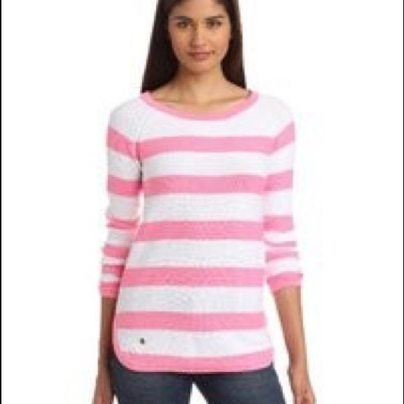 New Arrival Lilly Pulitzer striped sweater Excellent condition. No trades. No PayPal. Lilly Pulitzer Sweaters Crew & Scoop Necks