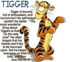 The wunnerful thing about Tiggers is.....