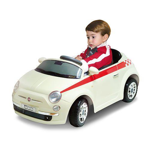 Fiat 500 Car 6 Volt Ride