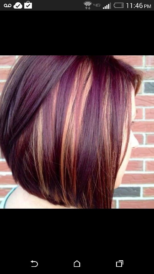 Brown and purple
