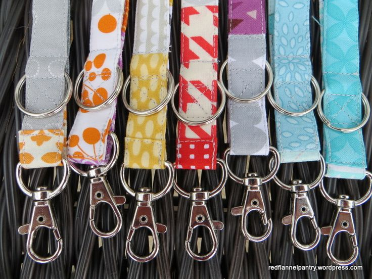 In an earlier post, I mentioned how I thought a lanyard would make a great high-school graduation gift. Well, today I finished up production of seven of them. Finding the swivel hook on a D-ring to...