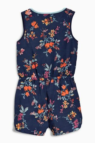 Buy Ditsy Playsuit (3-16yrs) online today at Next: New Zealand LILY/SUMMER