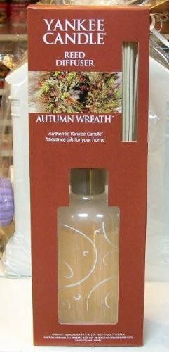 Autumn Wreath Yankee Candle Reed Diffuser . $19.99