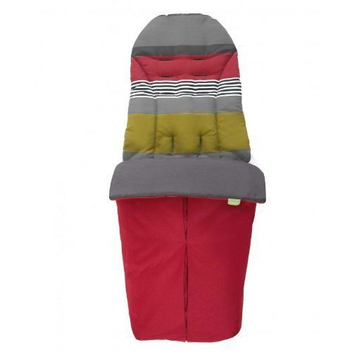 Mamas & Papas Sola Stroller Footmuff - Red by Mamas & Papas