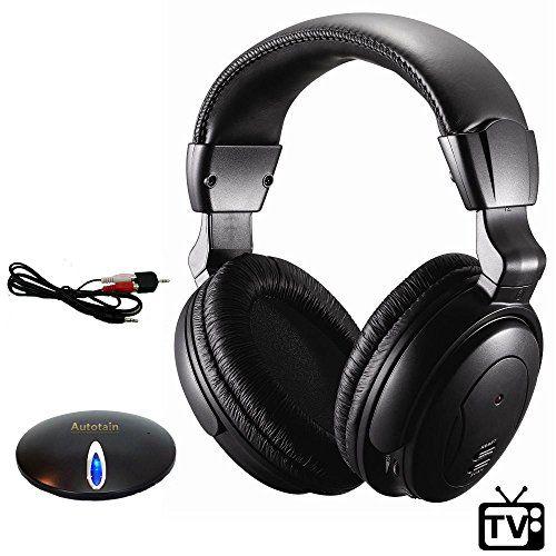 Best Wireless TV Headphones  Watching TV  VHF RF FM Stereo SOFT EARPADS Adult Size AUTOTAIN BOSS Review https://beatswirelessheadphonesreviews.info/best-wireless-tv-headphones-watching-tv-vhf-rf-fm-stereo-soft-earpads-adult-size-autotain-boss-review/