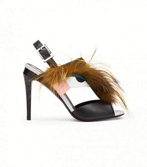 Fendi Bag Bugs Sandals