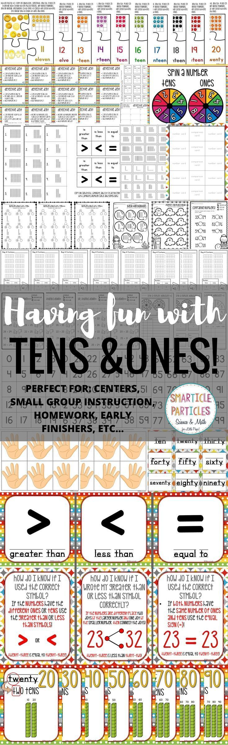 Best 25 tens and ones worksheets ideas on pinterest 1 tens place value tens and ones exploring place value with numbers 10 99 nvjuhfo Choice Image