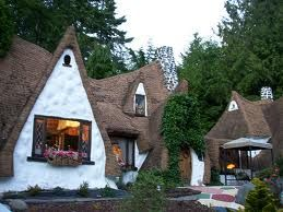 a whimsical little cottage