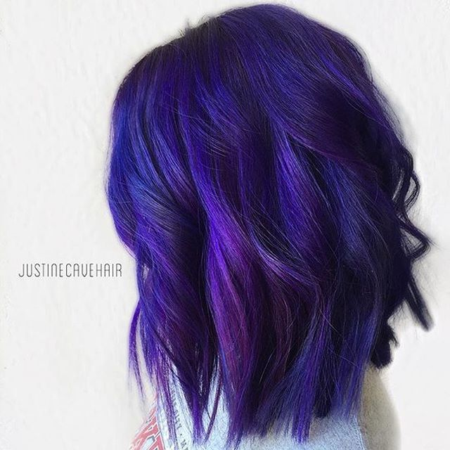 25 Best Ideas About Blue Purple Hair On Pinterest  Pastel Purple Hair Craz