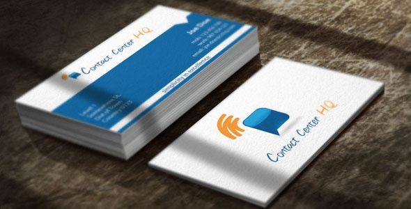 Contact Center Business Card