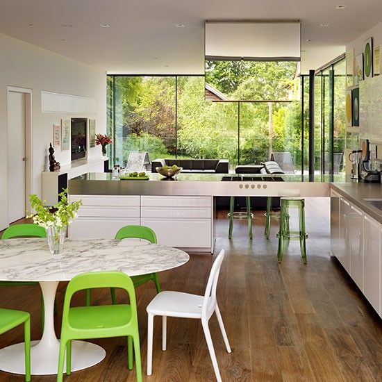 17 Best Images About Open Plan Kitchens On Pinterest