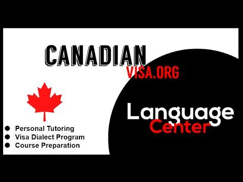 Language Center | Canadian Visa