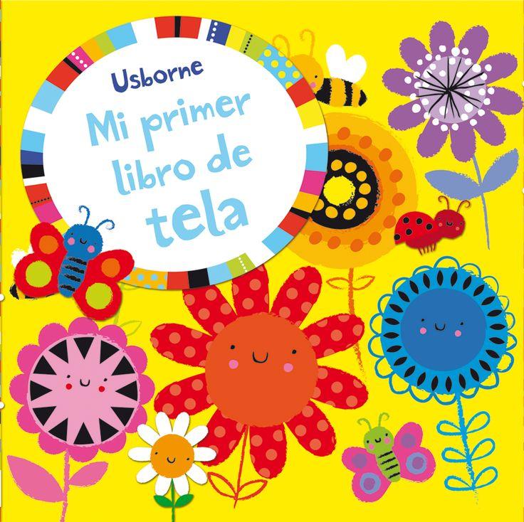 Un libro sin palabras, pero con páginas repletas de escenas llenas de color que llamarán la atención de los bebés.  #niños #paraniños #librosparaniños #lecturainfantil #literaturainfantil #bebé #bebés #parabebés #peque #libros #tela #amarillo