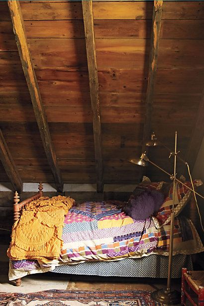 I would live in an attic