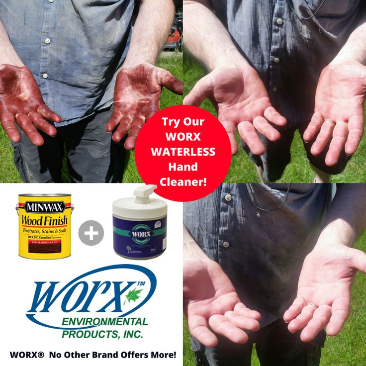 WORX Operations Manager Tim decided to test out our WORX Waterless Hand Cleaner.  How did he do?