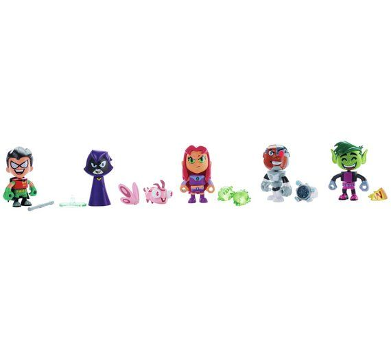 Buy Teen Titans Go! 2 inch Mini Figures Pack at Argos.co.uk, visit Argos.co.uk to shop online for Action figures and toys, Clearance Toys, Toys
