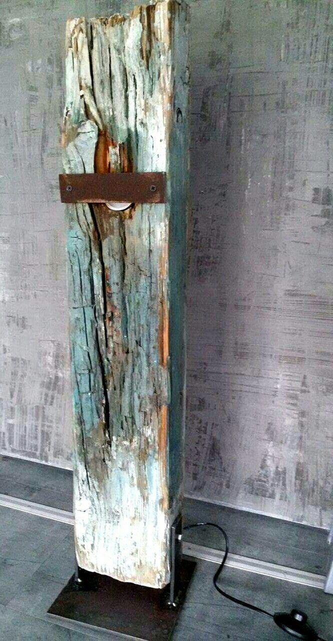 Wood design lamp Sonja Bittlinger