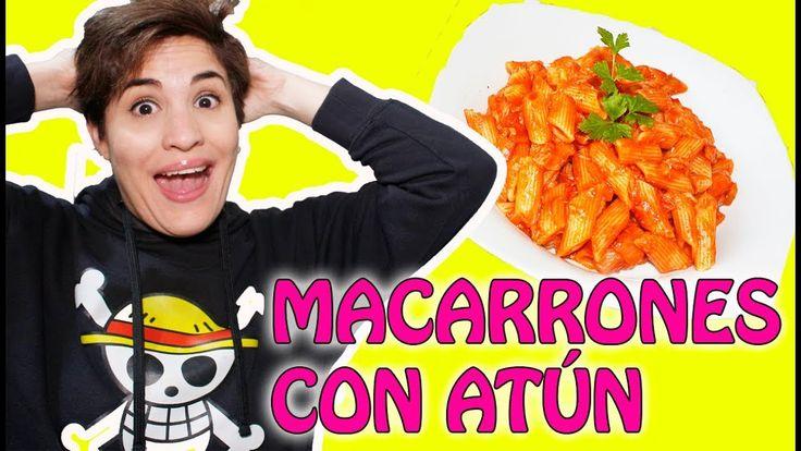Como hacer Macarrones con Tomate y Atún -Receta Fácil/Maryla y sus Recetas