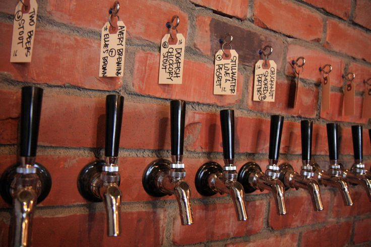 Beer Taps @ Urban Family Public House. Seattle.