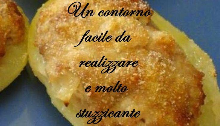TUTTI INSIEME: Barchette di patate saporite