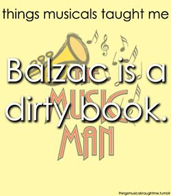 The Music Man taught me..