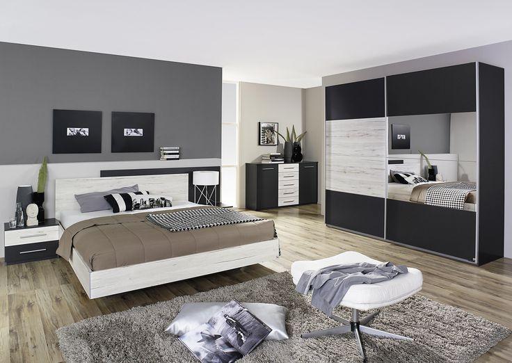 Schlafzimmer Luca Pinie weiß Set komplett 4tlg Jetzt bestellen - günstige komplett schlafzimmer