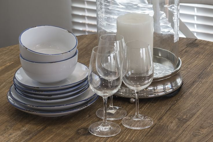 This #table #setting is from Ausbuild's Attwood display home, candles can add a touch of elegance to any #dining table.  www.ausbuild.com.au.