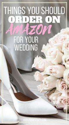 So sparen Sie Geld bei Ihrer Hochzeit mit Amazon – Auf ein Budget für Ihre Hochzeit? Er…   – Wedding