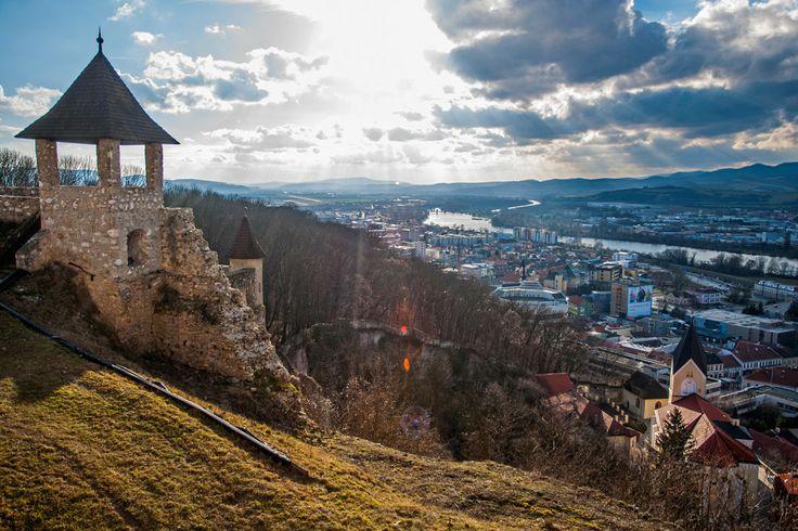 Trenčín, Slovakia - view from Trencin castle