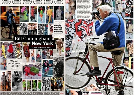 Bill Cunningham , working the Manhattan Streets!