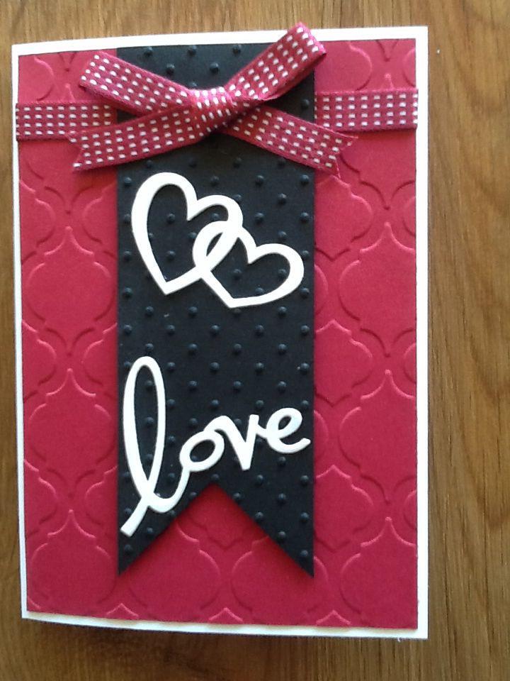 Valentine card. Quick & easy.