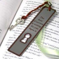 Key to Success Bookmark  #thingsengraved #thingsengravedgifts