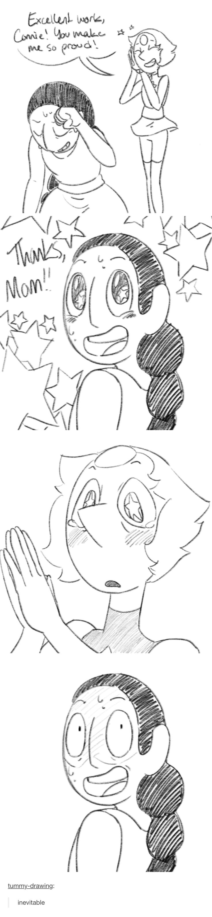 """Connie saying """"Thanks MOM"""" to pearl, she just wants some love !!!"""