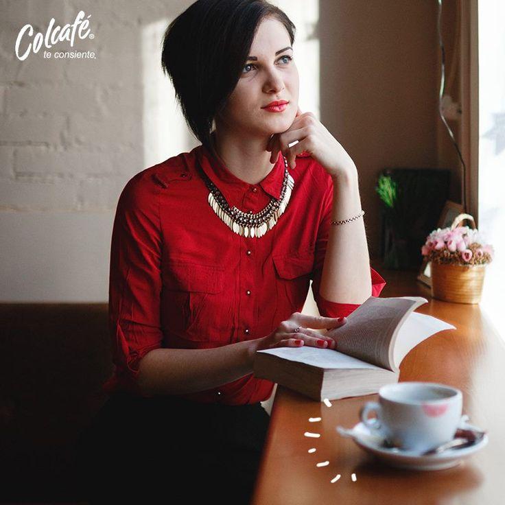#ColcaféTeConsiente compartiendo con alguien o disfrutando de tu propia compañía.