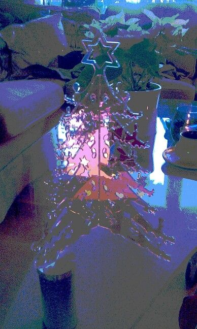 """Glass"" Christmas tree"