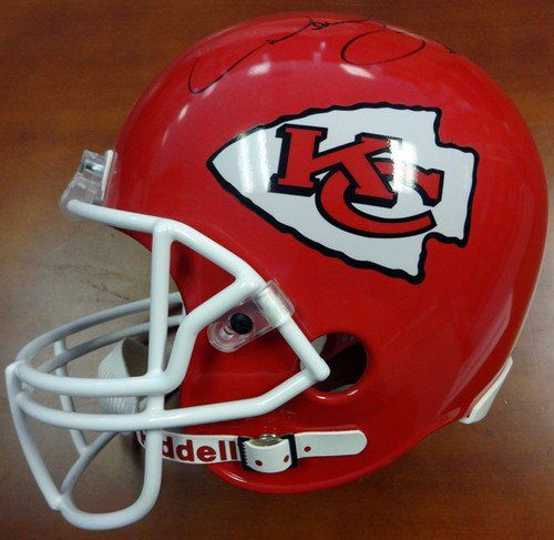 Derrick Thomas Signed Kansas City Chiefs Riddell Replica Football Helmet - PSA/DNA Authenticated - NFL Football Helmets ** More info could be found at the image url.