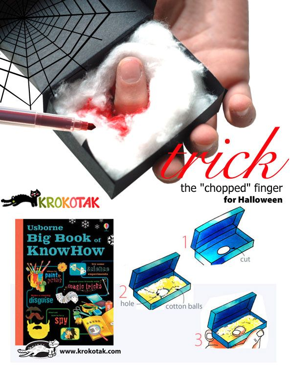"""The """"chopped"""" finger trick"""