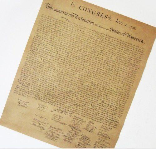 Amazon|オシャレな インテリアに レプリカ風 アメリカ独立宣言 ポスター 52×42cm|モダン・コンテンポラリー オンライン通販