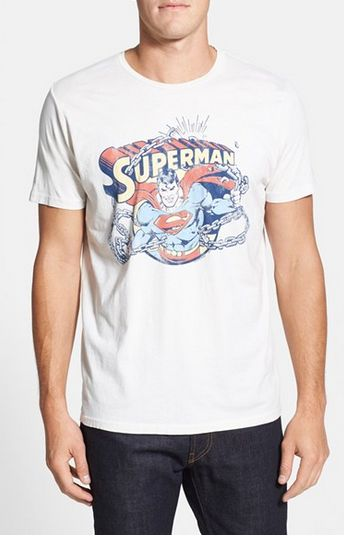 $23.9 for Junk Food 'Superman' Graphic T-Shirt @ Nord Strom - Hot Deals