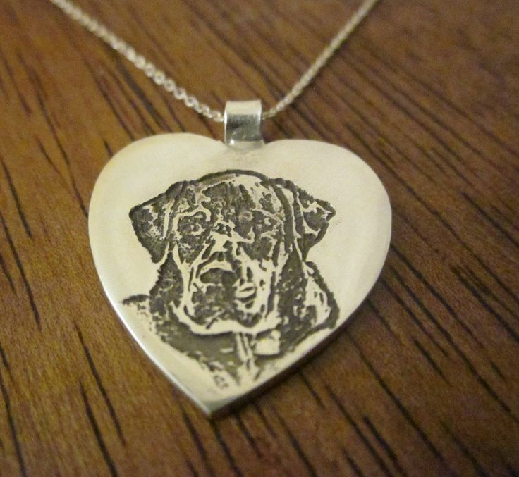 15 best custom pet pendants images on pinterest your dog dog custom silver dog pendant made from your dogs photo heart shaped design aloadofball Image collections