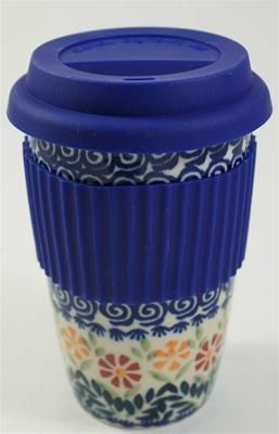 Ultimate coffee to go that is pretty, durable and goes in the microwave & dishwasher!