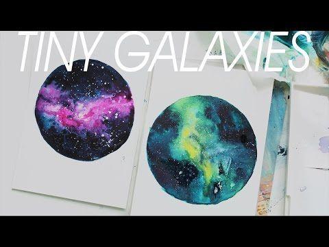 ▶ [TINY NEBULA] Watercolor Painting - YouTube