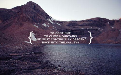 Climb Mountains /  Julian Bialowas