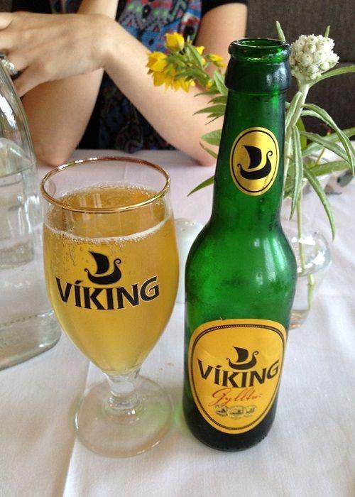 Islandia cerveza de Viking